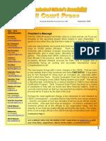 CBOA Newsletter September 2009