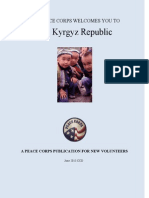 Peace Corps Kyrgyz Republic Welcome Book |  June 2013 'CCD'