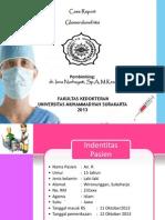 Case Report Glomerulonefritis