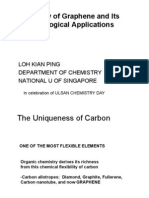 Chemistry of Graphene and Its Technological Applications-Prof.loh