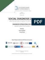 Diagnoza Społeczna 2013 Warunki i Jakość Życia Polaków. Cały Raport (PL)