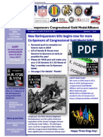 Borinqueneers Congressional Gold Medal Alliance 1-1-2014 Update
