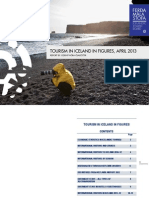 Tourism in Iceland in Figures April 2013