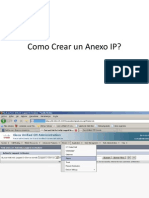 Como Crear Un Anexo IP