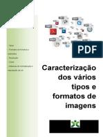 1 - Caracterização de vários tipos e formatos de imagens