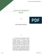 Histoire Des Shadilis de Damas