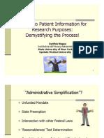 Access Patient Info
