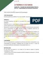 CURSO TEÓRICO A DISTANCIA / http://www.edpformacion.co.cc