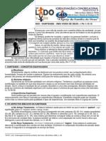 LIÇÃO 05 - DISCIPULADO - SANTIDADE - UMA VISÃO DE DEUS