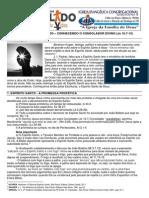 LIÇÃO 09 – DISCIPULADO – CONHECENDO O CONSOLADOR DIVINO (Jo 16.7-15)