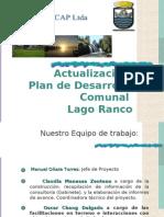 Presentación PLADECO Lago Ranco