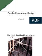 Paddle Flocculators