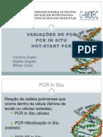 seminário variações de pcr