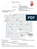A Christmas Crossword Puzzle