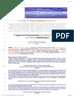 Principi Di Psicosomatica BioFisica e Biosistemica Energetica