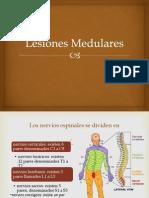 Lesiones Medulares