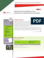 40optimisation Installation Air Comprime Industrie Pharmaceutique