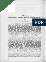 Jacobi Entwicklung Metrik ZDMG 38 1884