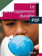 Economie Environnement Le Développement Durable