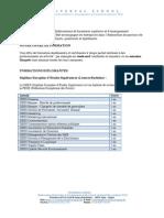Pr__sentation Des Formations Diplomantes Et Certifiantes