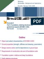 Eurocode 8 EN1998-5 2003_Faccioli Lecture