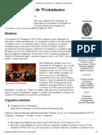 Confissão de Fé de Westminster – Wikipédia, a enciclopédia livre