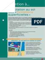 Adaptation Au Sol Des Fondations Superficielles