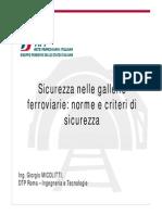 GIORGIO MICOLITTI-VVF-Sicurezza Nelle Gallerie Ferroviarie