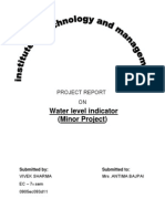 PROJECT REPORT ON WATER LEVEL INDICATOR.docx