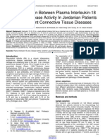 the-correlation-between-plasma-interleukin-18-level-and-disease-activity-in-jordanian-patients-with-different-connective-tissue-diseases