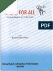 22.an Introduction to Urdu Script