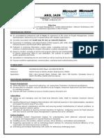 sample network engineer resume