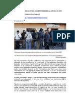 LA DIFERENCIA ENTRE RICOS Y POBRES EN LA ESPAÑA DE HOY