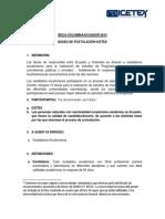 Bases de postulación para ecuatorianos