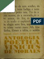 1960 - Antologia Poética - Vinícius de Moraes