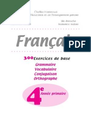 300 Exercices En 4 Ap Nombre Grammatical Genre Grammatical