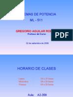 Clase N° 01 - ML 511 - 02-09-2009