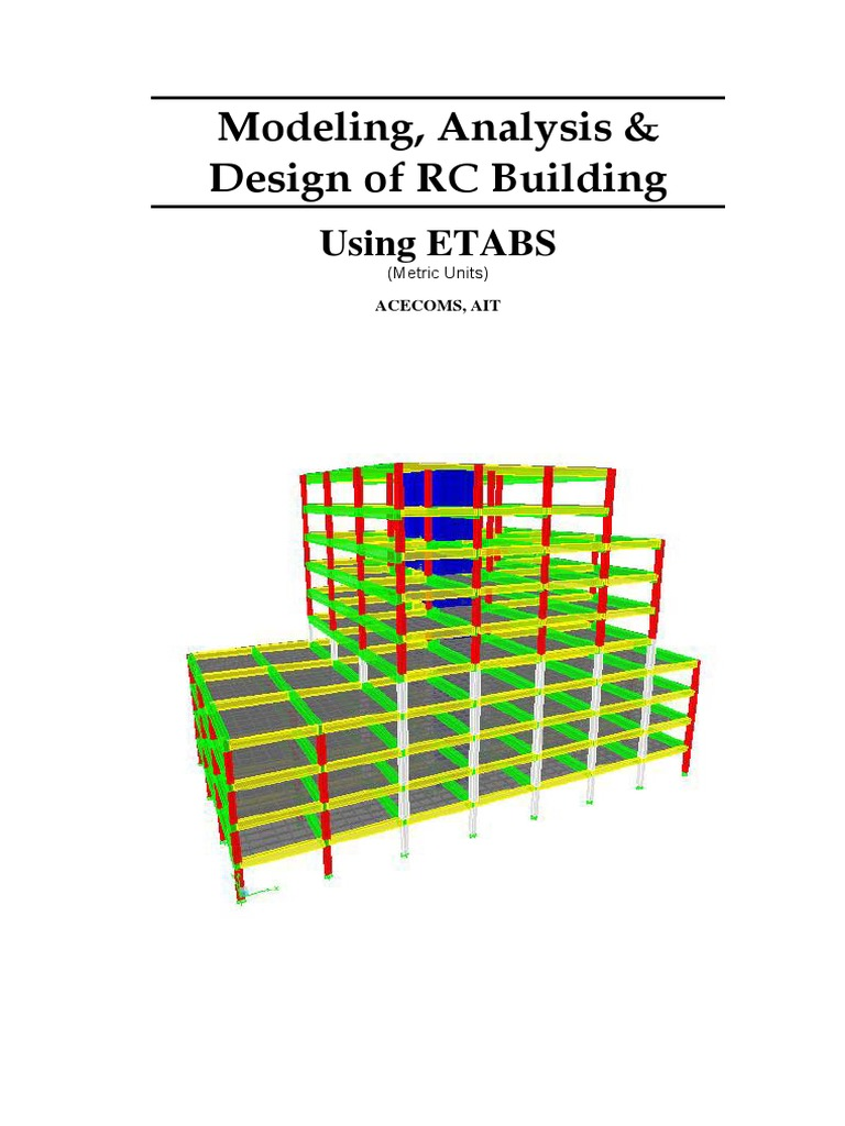 ETABS-Example-RC Building _Equivalent Special Seismic | Framing  (Construction) | Earthquakes