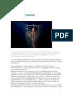 De Ce Dispare Titanicul