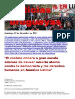 Noticias Uruguayas Domingo 29 de Diciembre Del 2013