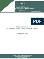 Macciò 2010 Il mito delle origini. La Sardegna, Aristeo e la fondazione di Cagliari