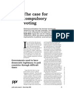 Birch- The Case for Compulsory Voting