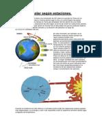 Radiacion segun estaciones