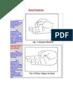 Hand Postures