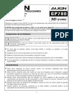 Manual GIRO Gyro Gp780