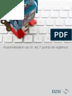Automatisation Du SI Les 7 Points de Vigilance