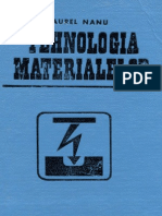 tehnologia materialelor
