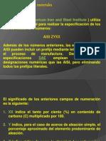 Clasificacion AISI y SAE