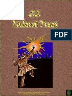 D20 Modern Complete Talent Trees