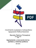 Agotamiento y renovación de los partidos y sistemas políticos